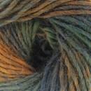 Lammy Yarns - Rainbow 911 groen oranje (op=op)