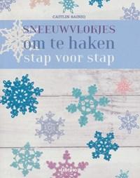 Sneeuwvlokjes om te haken - stap voor stap