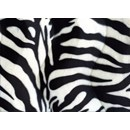 Velboa 13 zebraprint (50 cm)