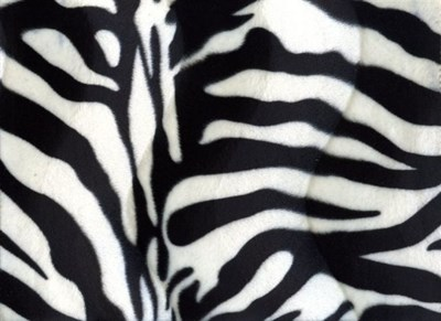Velboa 13 zebraprint 50 cm