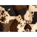 Velboa 24 koeprint bruin (50 cm)