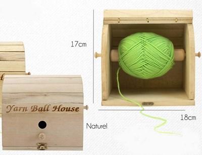 Kluwenhouder hout mat