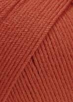 Lang Yarns Merino 130 compact 957.0061 zacht rood