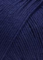 Lang Yarns Merino 130 compact 957.0035 marine blauw