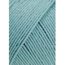 Lang Yarns Merino 130 compact 957.0072 oud aqua blauw