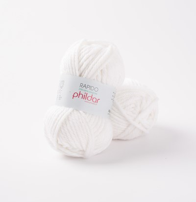 Phildar Rapido Blanc 1225 - 10