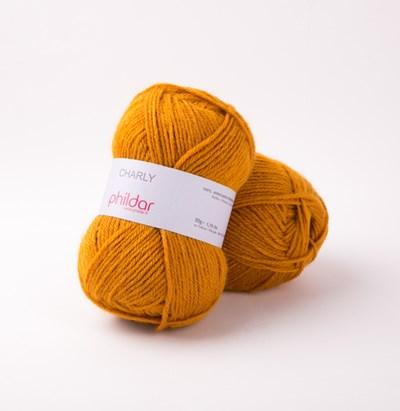 Phildar Charly Giraf 0044 - bruin oranje op=op