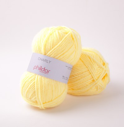 Phildar Charly Pollen 0045 - 1386 - geel licht