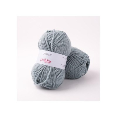 Phildar Charly Fjord 0049 - 1315 - blauw grijs