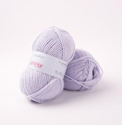Phildar Charly Lavande 0053 - 1445 - paar lila op=op
