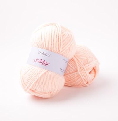 Phildar Charly Poudre 0057 - 1464 - roze huidskleur