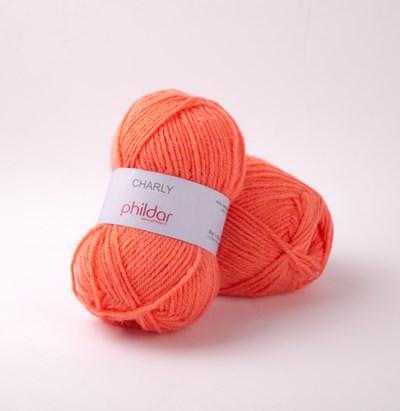 Phildar Charly Corail 0058 - 1063 - oranje zalm