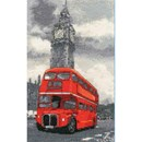 Borduurpakket DMC London bus BK1174