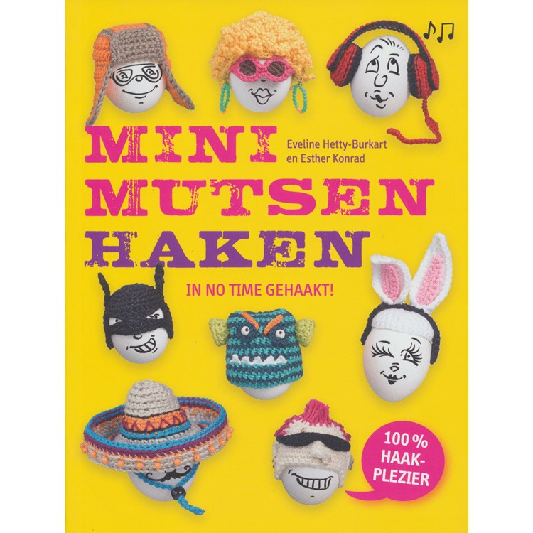 Mini Mutsen Haken Hobbydoosnl
