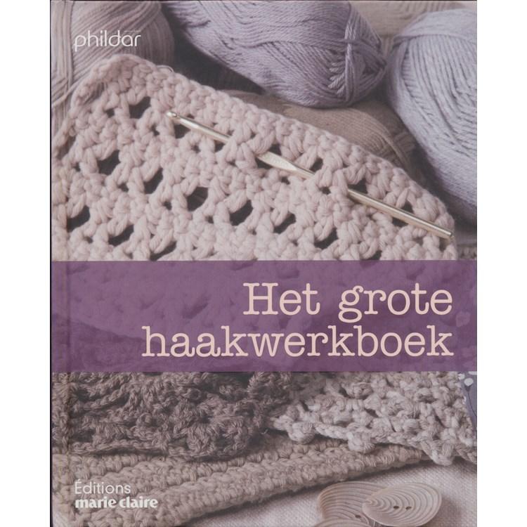 Marie Claire Het Grote Haakwerkboek Opop Hobbydoosnl