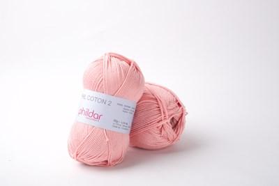 Phildar Phil coton 2 Rose saumon 0093