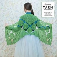 Leaflet omslagdoek Emerald