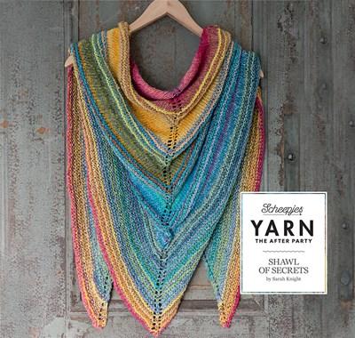 Scheepjes Yarn after party no. 06 shawl of secrets
