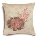 Borduurpakket kussen rose patch 35 a 35 cm - dimensions 72-73568 (op=op)