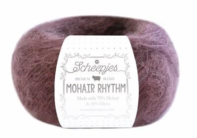 Scheepjes Mohair Rhythm 671 quickstep - donker oud roze