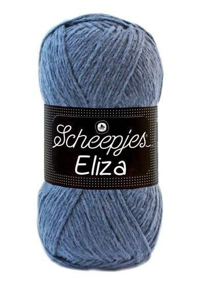 Scheepjes Eliza 220 denim patch