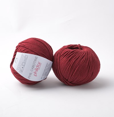 Phildar Cabotine Bordeaux 0037 - 1038