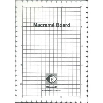 Macrame bord 27 a 19 cm op=op