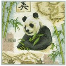 Borduurpakket anchor - Panda
