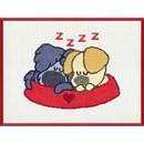 Woezel en Pip slapend