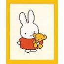 Borduurpakket Nijntje met beer (op=op)