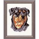 Borduurpakket hond - Rottweiler
