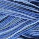 Lammy Yarns Rio multi 624 licht marine blauw gemeleerd