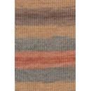 Lang Yarns Merino plus color 926.0068 bruin groen