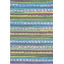 Lang Yarns Merino 200 bebe color 155.0478 - blauw groen streep