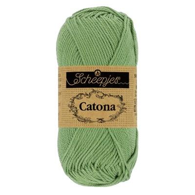 Scheepjes Catona 212 sage green 50 gram
