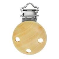 Clip voor speen hout - blanc 110