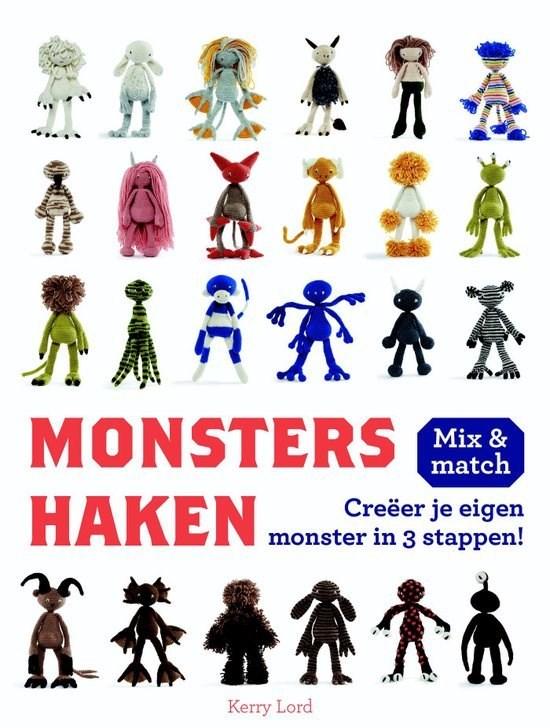 Monsters Haken Hobbydoosnl