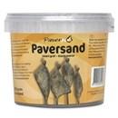 Paverpol paversand zwart/grof (1000 gram)