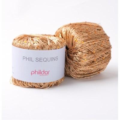Phildar Phil Sequins Cuivre op=op
