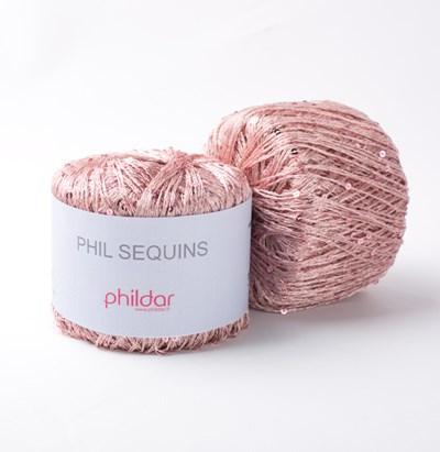 Phildar Phil Sequins Rose 0004