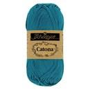 Scheepjes Catona 400 (50 gram) - Petrol blauw