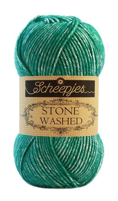 Scheepjes Stone Washed 825 Malachite - groen