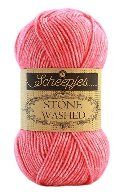 Scheepjes Stone Washed 835 zacht roze rood