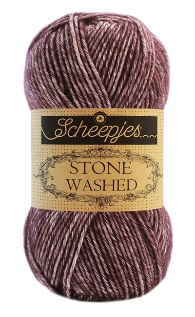 Scheepjes Stone Washed 830 Lepidolite - aubergine