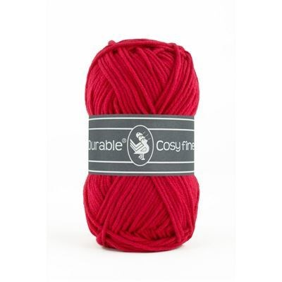 Durable Cosy fine 0317 deep red