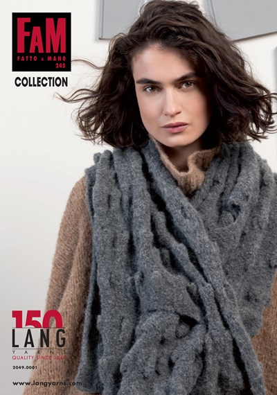 Lang Yarns magazine 245 collection