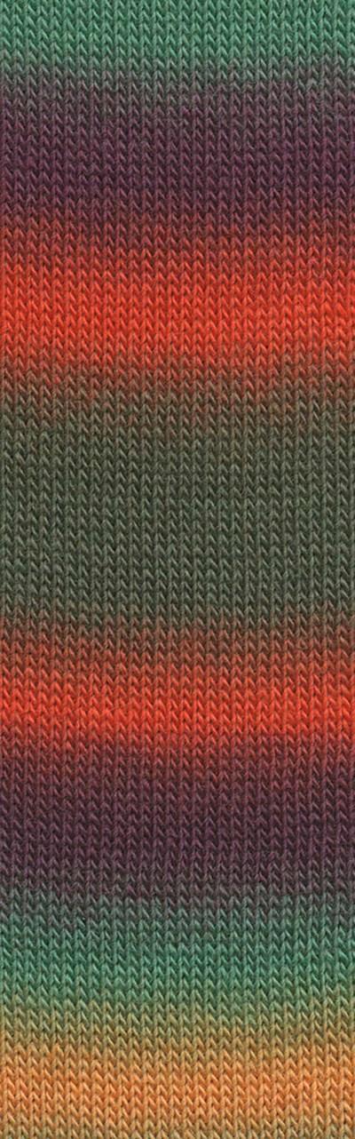 Lang Yarns Jawoll Magic Degrade 85.0090 groen oranje