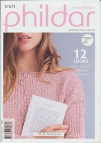 Phildar nr 673 winter 2017-2018 12 damesmodellen (op=op)