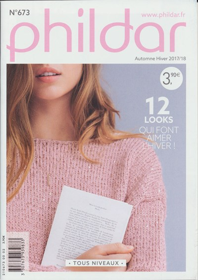 Phildar nr 673 winter 2017-2018 12 damesmodellen (op=op)