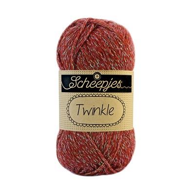 Scheepjes Twinkle 906 rood bruin